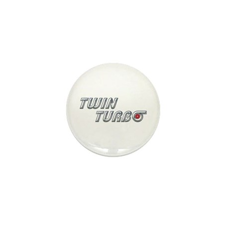 Twin Turbo Mini Button (100 pack)