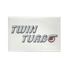 Twin Turbo Rectangle Magnet