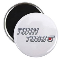 "Twin Turbo 2.25"" Magnet (10 pack)"