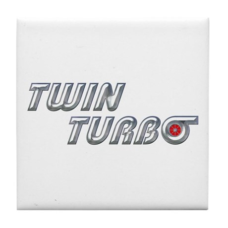 Twin Turbo Tile Coaster