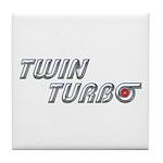 Twin Turbo Tile Coaster
