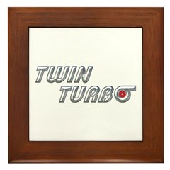 Twin Turbo Framed Tile