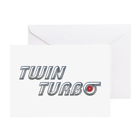Twin Turbo Greeting Card