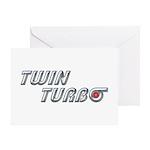 Twin Turbo Greeting Card