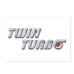 Twin Turbo Postcards (Package of 8)