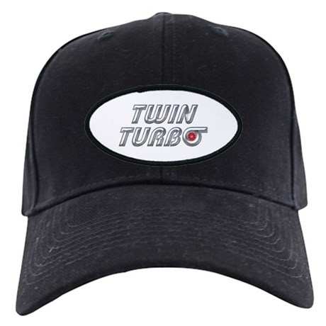 Twin Turbos Black Cap