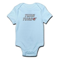 Twin Turbos Infant Bodysuit