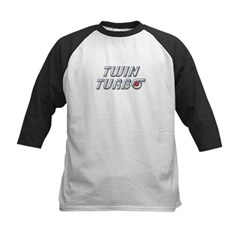 Twin Turbos Kids Baseball Jersey