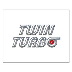 Twin Turbos Small Poster
