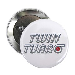 "Twin Turbos 2.25"" Button (10 pack)"