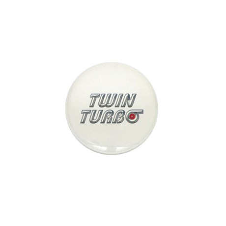 Twin Turbos Mini Button (10 pack)