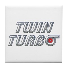 Twin Turbos Coaster Tile