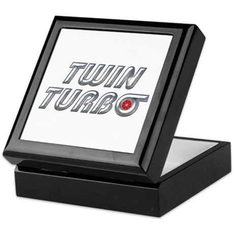 Twin Turbos Keepsake Box