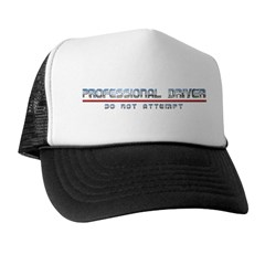 Professional Driver Trucker Hat