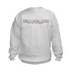 Professional Driver Kids Sweatshirt