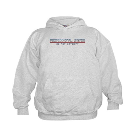 Professional Driver Kids Hoodie