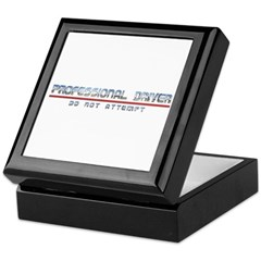 Professional Driver Keepsake Box