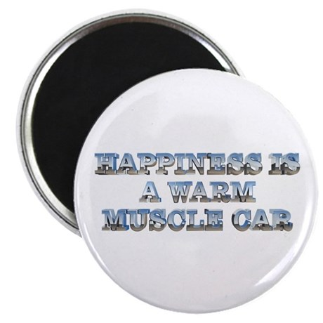 Happiness is a Musclecar 2.25 Magnet (10 pk)