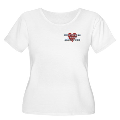 Happiness is...II Women's Plus Size Scoop Neck Tee