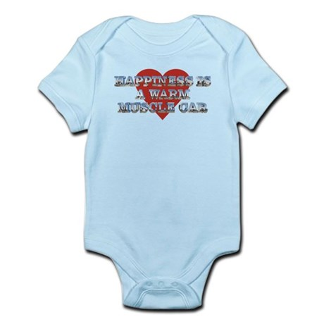 Happiness is a Musclecar II Infant Bodysuit