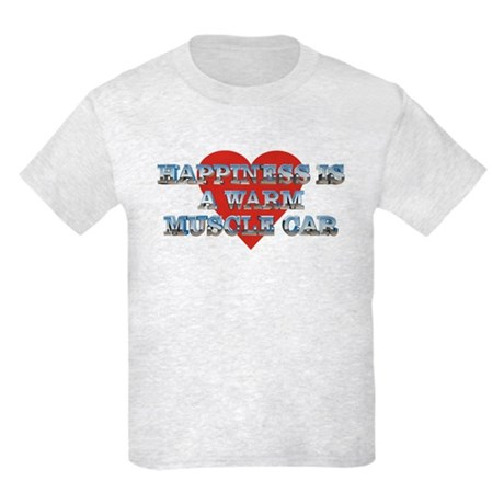 Happiness is a Musclecar II Kids Light T-Shirt