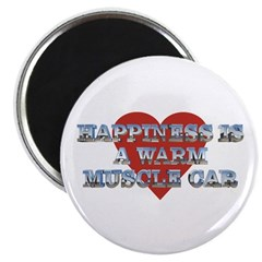 "Happiness is...II 2.25"" Magnet (10 pk)"