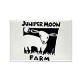 B&W Juniper Moon Farm Rectangle Magnet