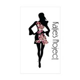 Katie's Project Rectangle Sticker 10 pk)