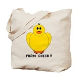 Farm Chick Tote Bag