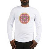 Heart Chakra Bliss Mandala Long Sleeve T-Shirt