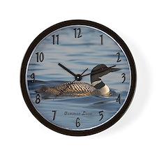 Common Loon Wall Clock