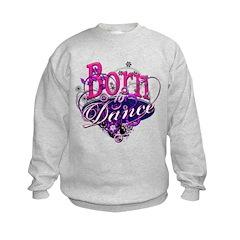 Born to Dance Kids Sweatshirt