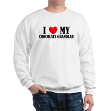 Chocolate Grandlab Sweatshirt