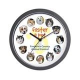 Foster a Pet... Wall Clock