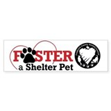 Foster a Pet... Bumper Bumper Sticker