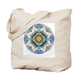 Rainbow Bliss Chakra Mandala Tote Bag