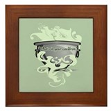 What's In Your Cauldron? Framed Tile