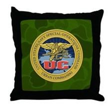 UC Throw Pillow