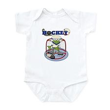 Frog Hockey Infant Bodysuit