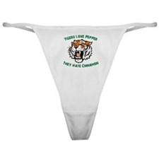 Tigers Love Pepper, They Hate Classic Thong
