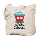 Our Little Caboose Tote Bag