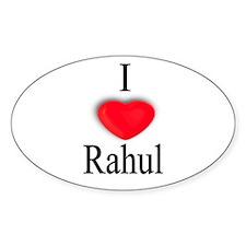 Rahul Oval Decal