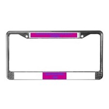 Buday Write-IN License Plate Frame