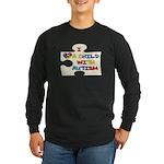 Autism Love Long Sleeve Dark T-Shirt