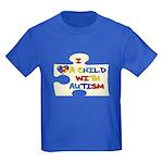 Autism Love Kids Dark T-Shirt