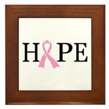 CURE CANCER Framed Tile