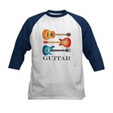 3 Guitars on Blank Background Tee