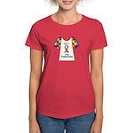 Walk 4 Autism Women's Dark T-Shirt