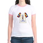 Walk 4 Autism Jr. Ringer T-Shirt