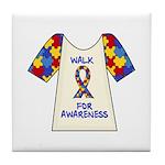 Walk 4 Autism Tile Coaster